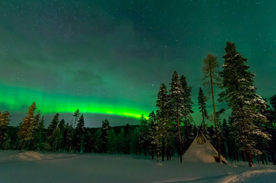 La magia dell'aurora boreale in Lapponia: 7 Febbraio 2013: la foto che cercavo!