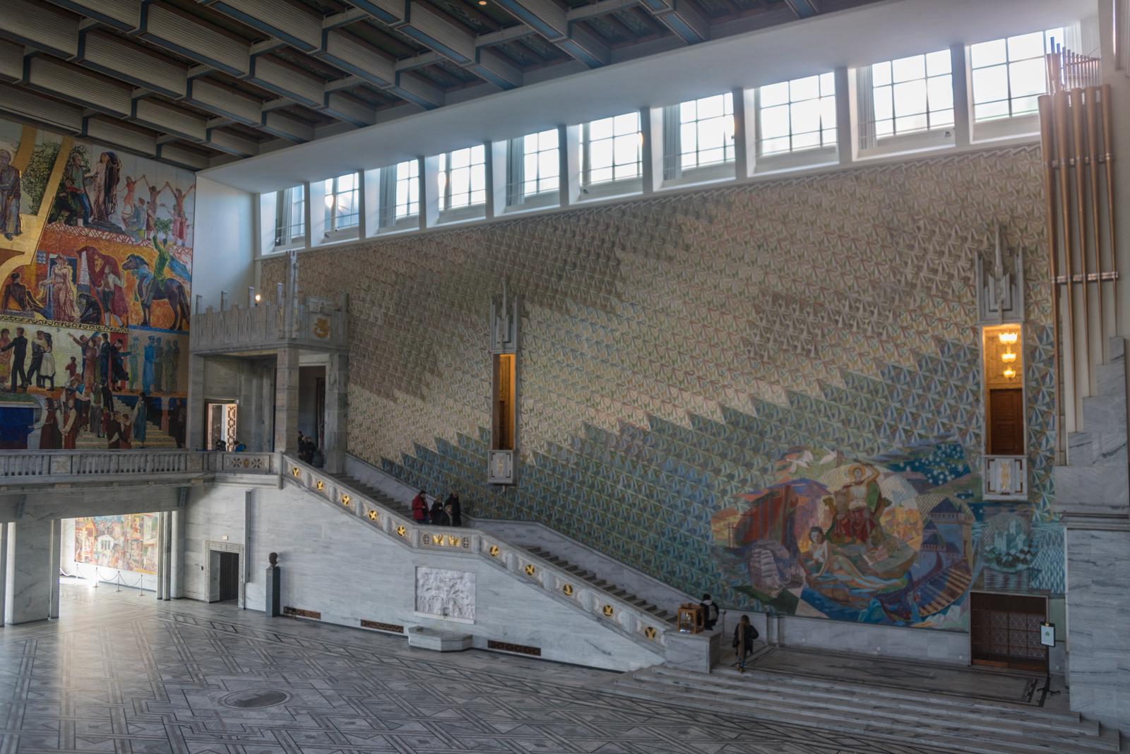 Municipio di Oslo salane interno