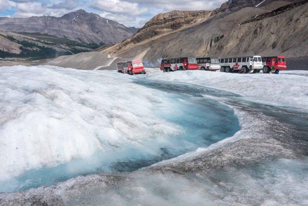 columbia-icefield-mezzi-fuoristrada-ghiacciaio