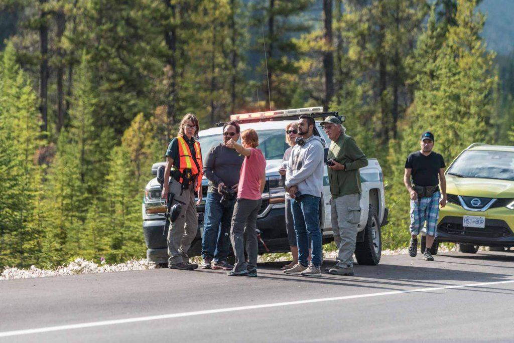 ranger-sulla-strada-per-jasper-avvistamento-fauna-selvatica